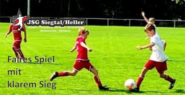 JSG Siegtal/Heller E3 gewinnt gegen Alpenrod II